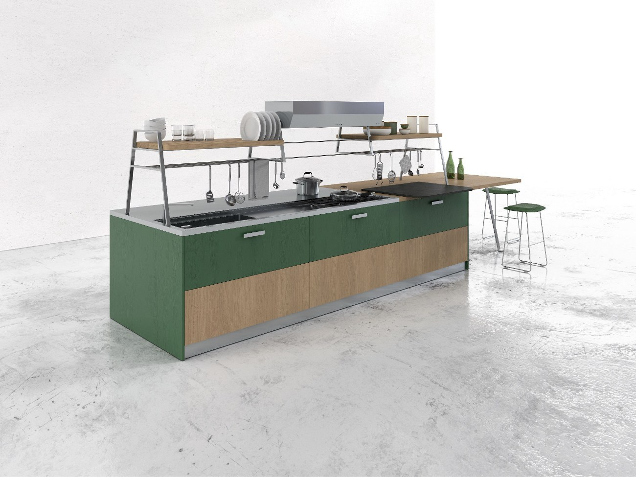 wood. solidtop srl piani di lavoro per la cucina mariano comense co ...