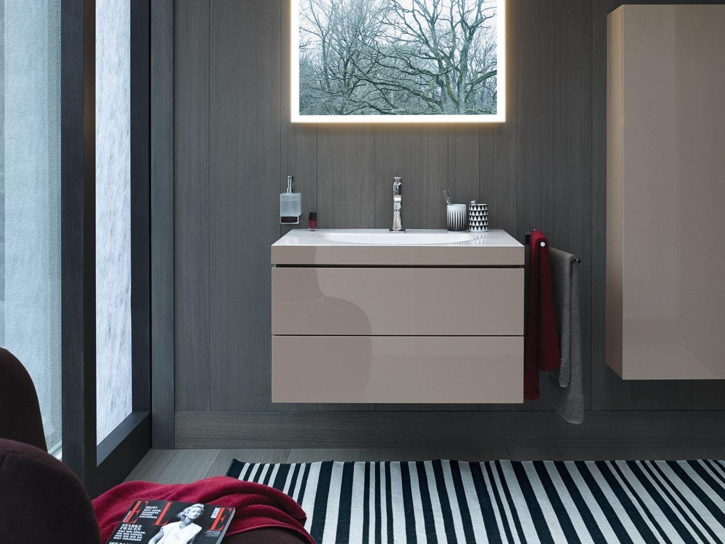 Mobile Bagno Sospeso Duravit : Mobile bagno legno bianco. Mobile ...