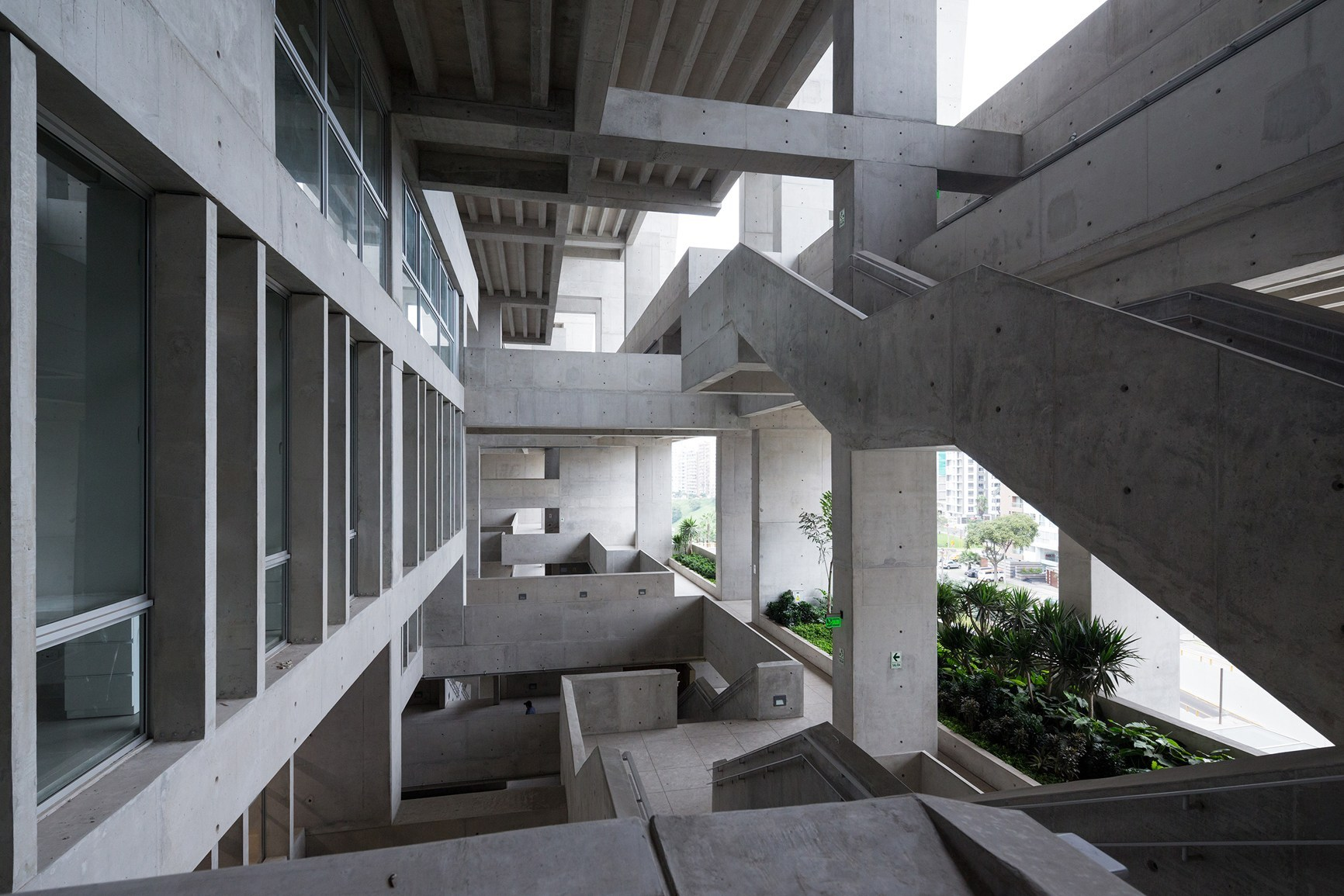 Grafton Architects, UTEC campus