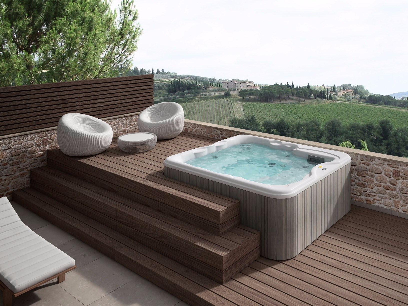 Lodge la novit jacuzzi dedicata al settore hospitality - Piscina jacuzzi da esterno ...