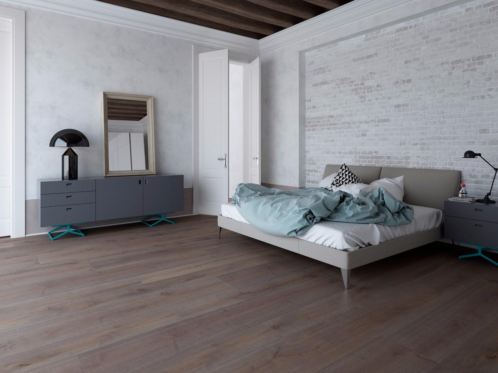 Camera da letto d 39 ispirazione industrial chic - Camera da letto minimal ...