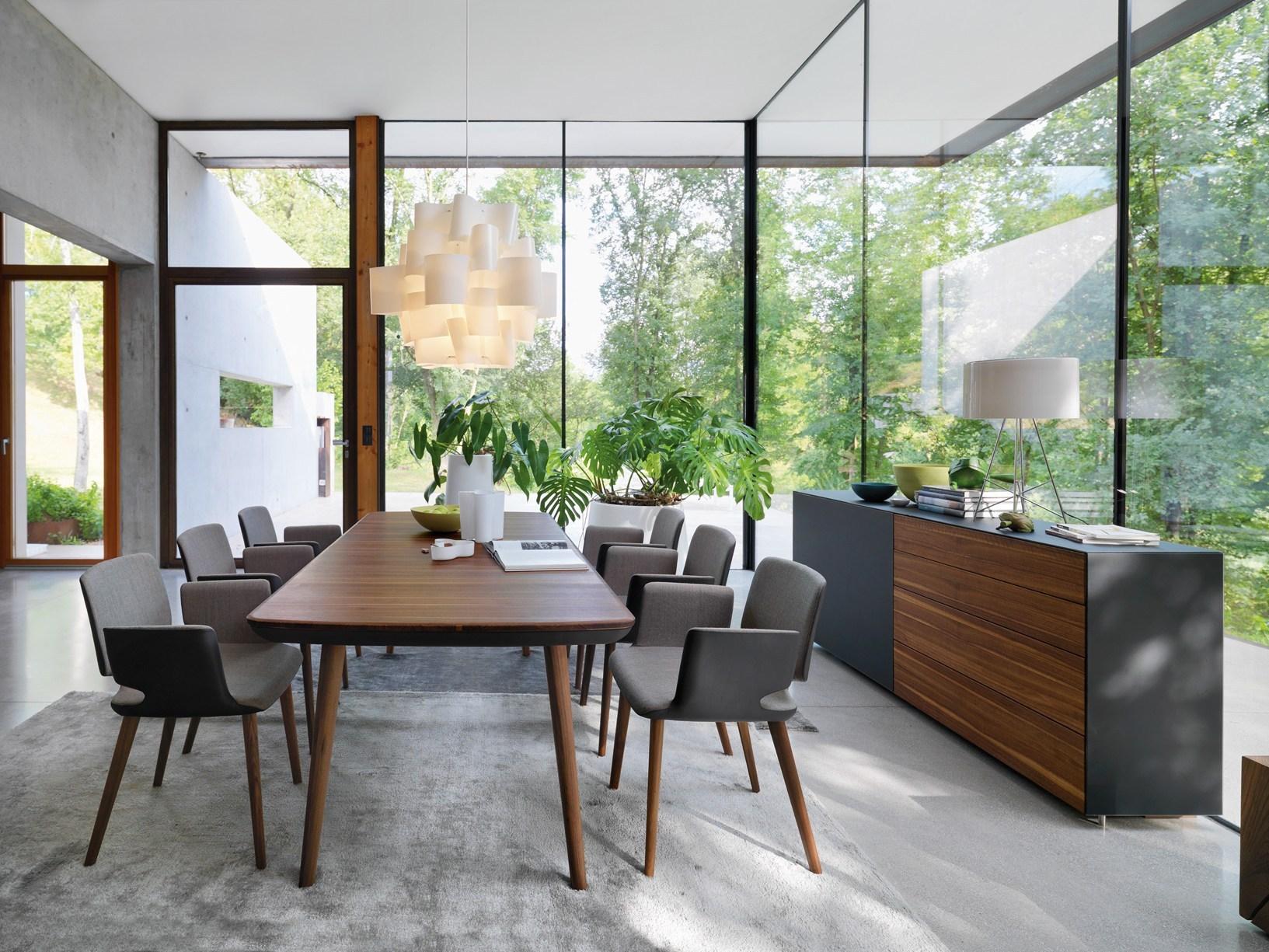 tavolo sedia by team 7. Black Bedroom Furniture Sets. Home Design Ideas