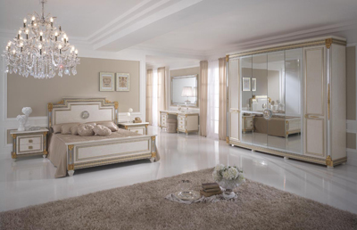 Arredoclassic arredo per interni in stile classico edilportale - Tinte pareti camere da letto ...