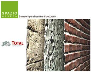 Spazioarreda rivestimenti e decorazioni murali edilportale - Rivestimenti decorativi finta pietra ...