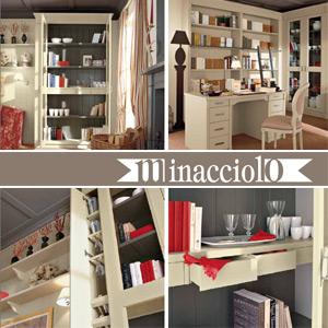 Minacciolo mobili country in legno massello edilportale for Minacciolo arredamenti