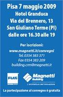 Magnetti: un convegno a Pisa sull�evoluzione dell�edilizia nei luoghi di lavoro