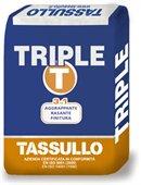 TRIPLE-T Tassullo. Tre prodotti in uno: rasante, aggrappante e finitura