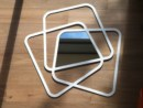 Complemento d arredo con specchio o con luce al neon, HI-MACS® per Jean-Baptiste Sibertin-Blanc