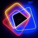 Complemento d arredo con specchio o con luce al neon, HI-MACS� per Jean-Baptiste Sibertin-Blanc