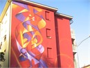 Street Art a Bologna con i colori Chr�on
