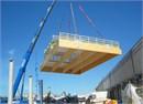 Il nuovo capannone antisismico della Men� srl di Medolla realizzato ad opera di Wood Beton