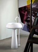 Nuovo Showroom Agape a Design Post, lavabo Bjhon 2 design Angelo Mangiarotti