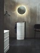 Nuovo Showroom Agape a Design Post, lavabo Vieques design Patricia Urquiola