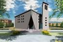 L'innovativo sistema Cis Edil per la nuova chiesa antisismica di Ubersetto
