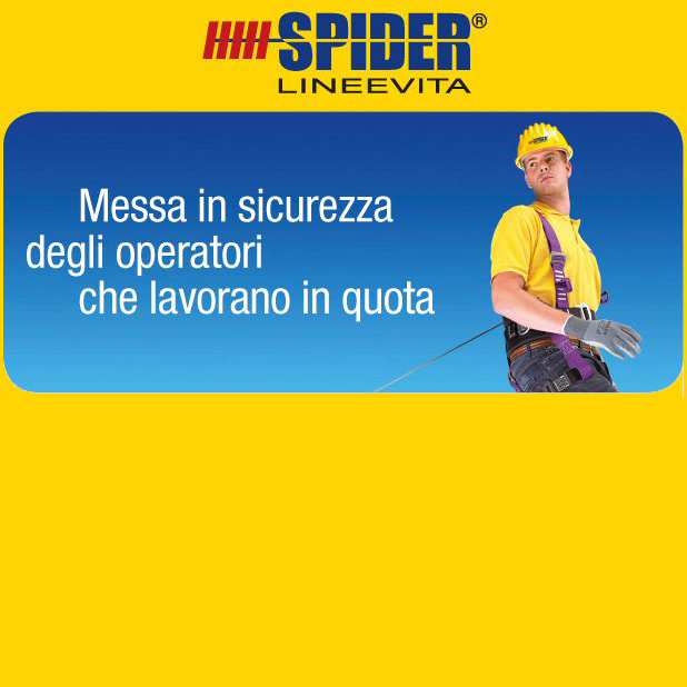 Lineevita, Sistemi anticaduta, sicurezza, SECURITY BUILDING SERVICE