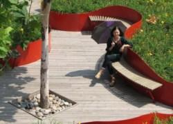 Qiaoyuan Park a Tianjin, un 'Parc de la Villette' in salsa cinese
