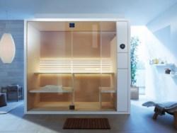 Duravit amplia la linea di saune con due versioni compatte