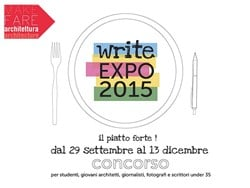 "Al via ""write EXPO 2015"" per gli under35"