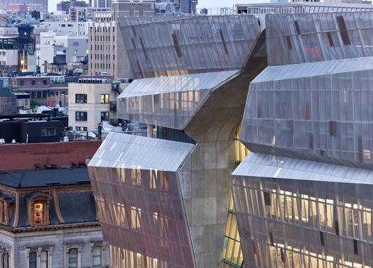 Taglio del nastro a new york per la nuova sede cooper union for New york architettura