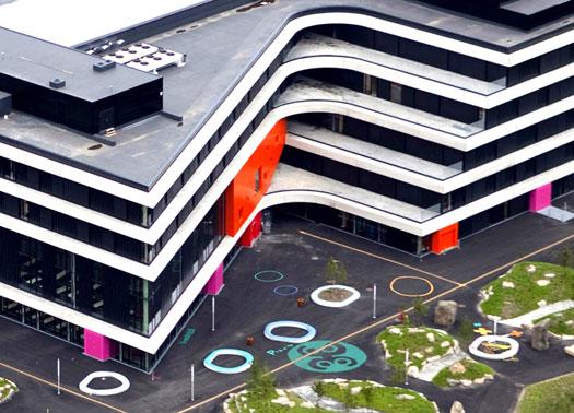 Inaugurata in norvegia la 39 scuola del futuro 39 di shl - Case norvegesi interni ...