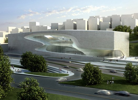 GIORDANIA: ZAHA HADID FIRMA IL PERFORMING ARTS CENTER DI AMMAN