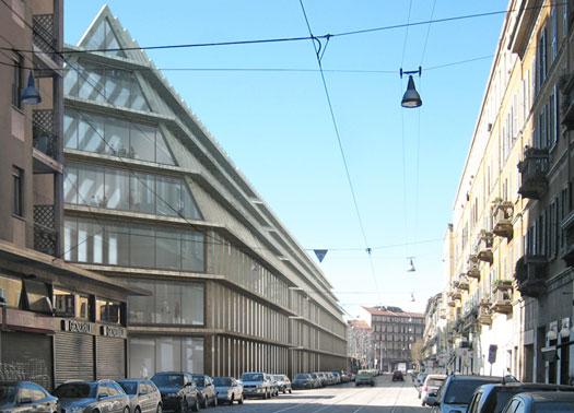 Milano il progetto feltrinelli maurizio pesenti - Immobiliare porta volta ...