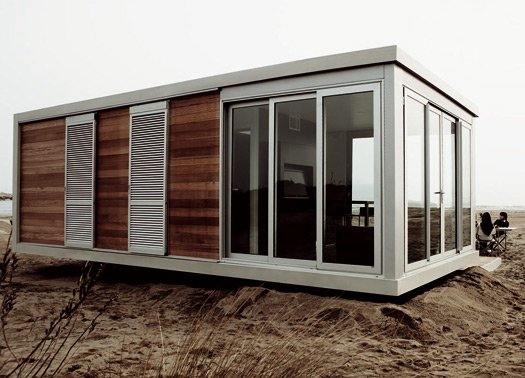 La casa mobile suite home di hangar design group for Case uso ufficio