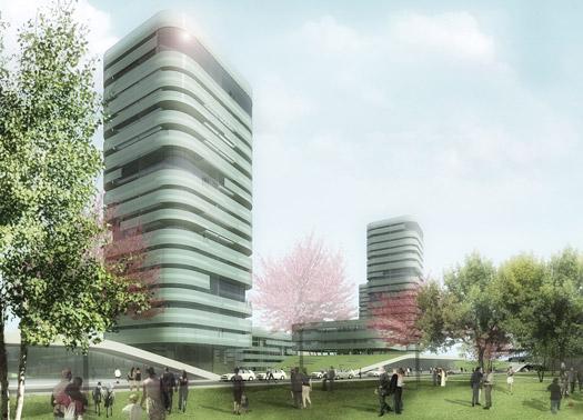 Aedes l eco quartiere residenziale di silvio d ascia a napoli for Quartiere moderno parigi