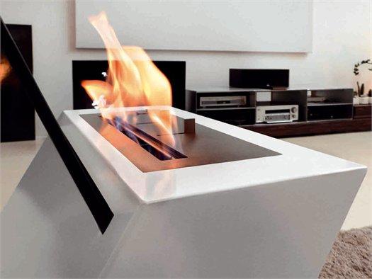 Linea Caleido EcoFire Design, Modello KLINO, Design Alessandro Canepa