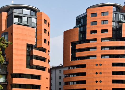 Ultimate le residenze 39 ex campari 39 di botta e marzorati for Lavoro architetto milano