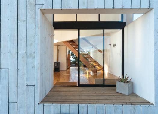Cile l essenzialit di panorama arquitectos in casa d - Interni arquitectos ...