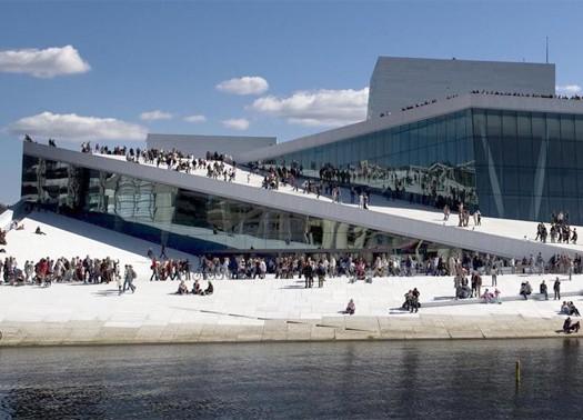 Sn hetta architettura paesaggio interni - Case norvegesi interni ...