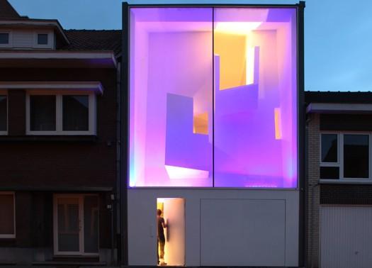 La casa stretta di bassam el okeily for Piani casa stretta casa