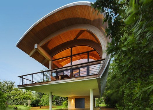 CASEY KEY GUEST HOUSE DI TOTEMS ARCHITECTURE