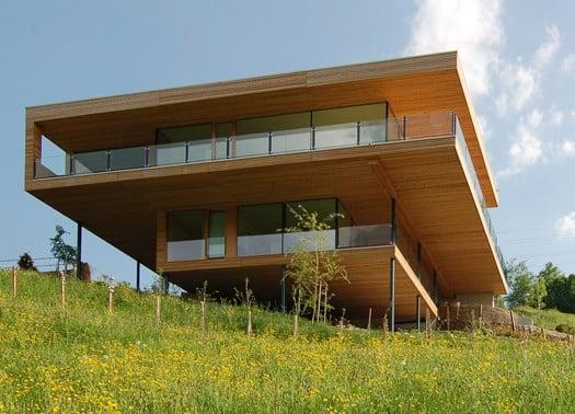 Svizzera la casa sul lago di k m architektur for Costruire una casa sul lago