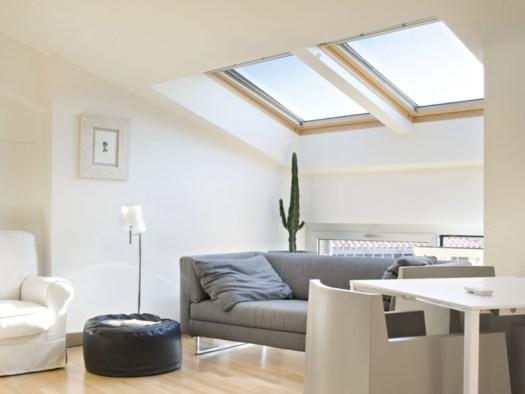 Monicolour sotto un tetto - Legno sbiancato tetto ...