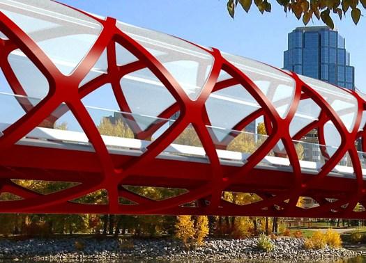 Calgary: il nuovo peace bridge firmato santiago calatrava