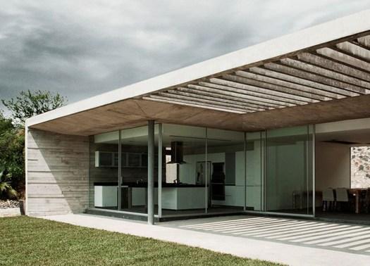 La casa 39 widescreen 39 firmata r zero studio for Piani casa netti zero