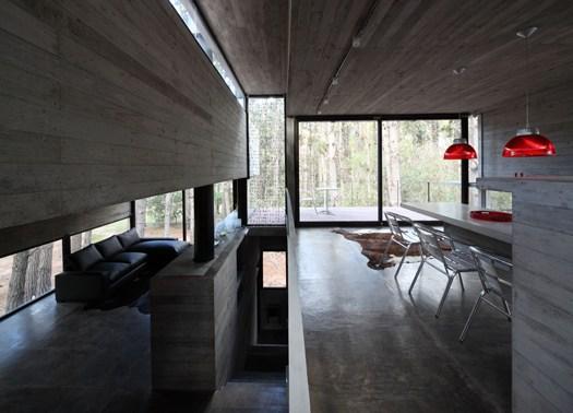 Nella pineta di mar azul la levels house di bak arquitectos - Interni arquitectos ...