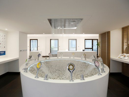 Grohe SPA, il primo showroom firmato Grohe