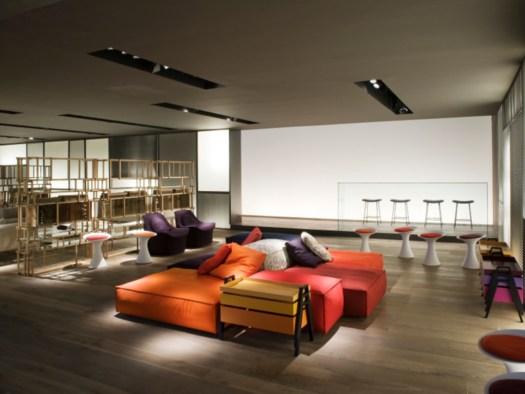 Living Divani, Stand al Salone Internazionale del Mobile 2012