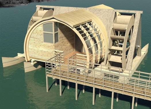 In mostra i progetti vincitori di eco luoghi 2011 al maxxi for Progetti case ecologiche