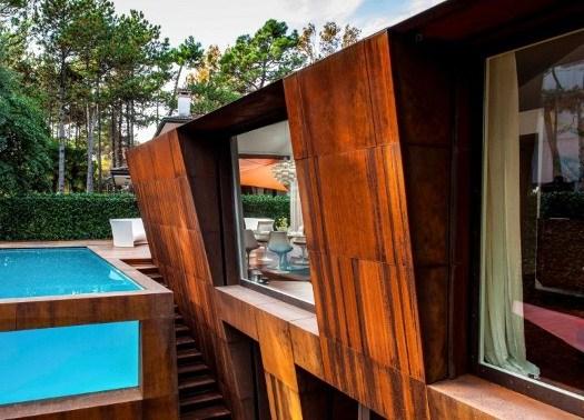 Il 39 paradosso materico 39 della casa in corten di lanfranco for Software di progettazione domestica di piano terra