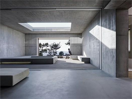 Zurigo pietra e calcestruzzo per la casa sul lago di gus for Idee di design per la casa sul lago
