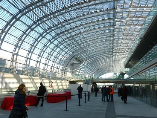 Inaugurata a torino la nuova stazione di porta susa - Porta susa stazione ...