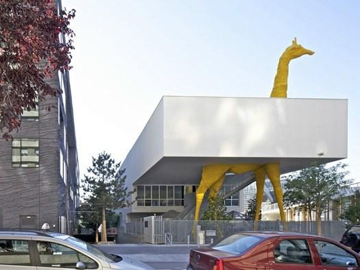Parigi il nuovo centro per l 39 infanzia di hondelatte laporte for Laporte illinois
