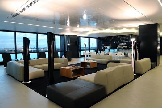 """Alitalia Fiumicino – Lounge """"Dolce Vita"""""""