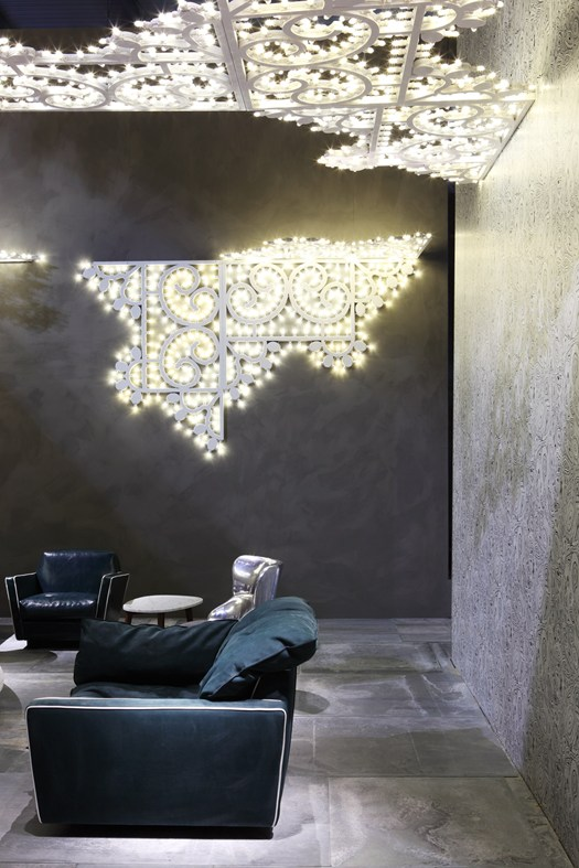 Il design eclettico di baxter ai saloni - Sognare lo specchio ...