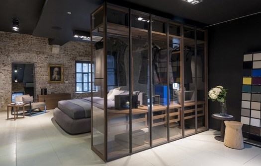 The factory il primo showroom poliform nel nord inghilterra - Poliform showroom ...