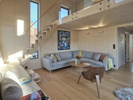 Arne garborgsei 18 by tyin tegnestue architects - Case norvegesi interni ...